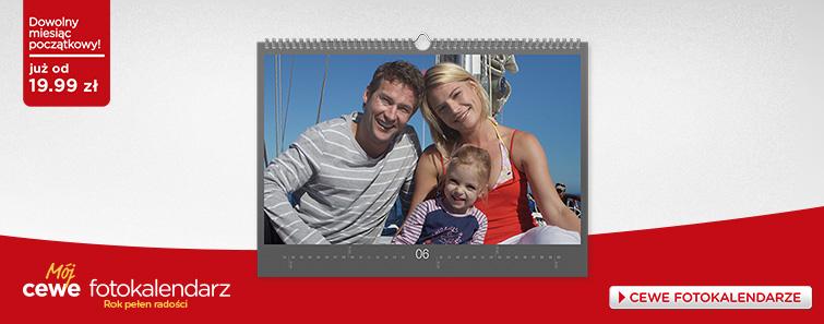 Mój fotokalendarz CEWE – fotokalendarz z Twoimi zdjęciami na każdy miesiąc w roku