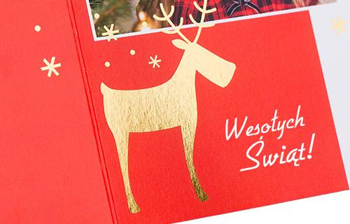 Warto podtrzymywać tradycję wysyłania bliskim kartek bożonarodzeniowych, ale można to wzbogacić o nowoczesne rozwiązania. Co powiesz na spersonalizowane kartki z własnymi zdjęciami i dodatkami? Takie niespodzianki cieszą najbardziej.
