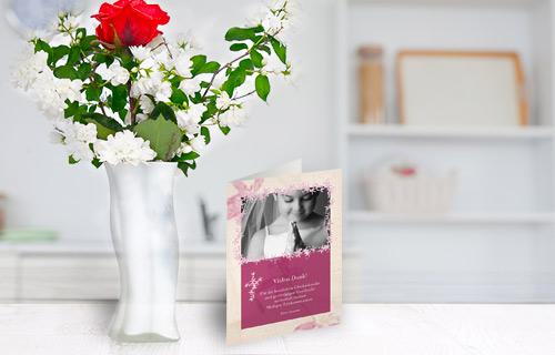 Szukasz idealnych zaproszeń, które świetnie wpiszą się w stylistykę wesela, chrzcin lub jubileuszu małżeństwa? Wybierz spersonalizowane zaproszenia, które możesz zaprojektować samodzielnie. Jak to zrobić? Sprawdź nasz przewodnik.