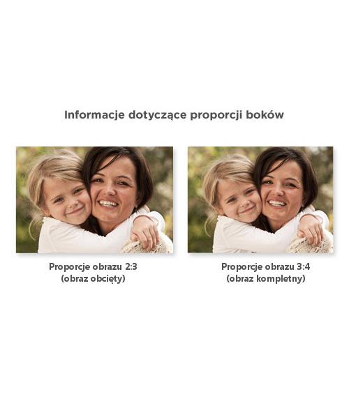 Ważne informacje - proporcje zdjęć