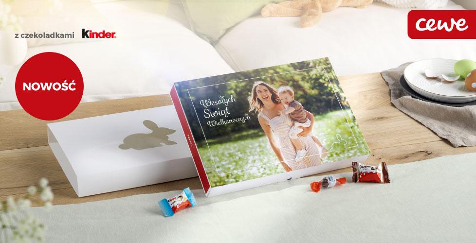 Wielkanocna Bombonierka Foto z czekoladkami Kinder®