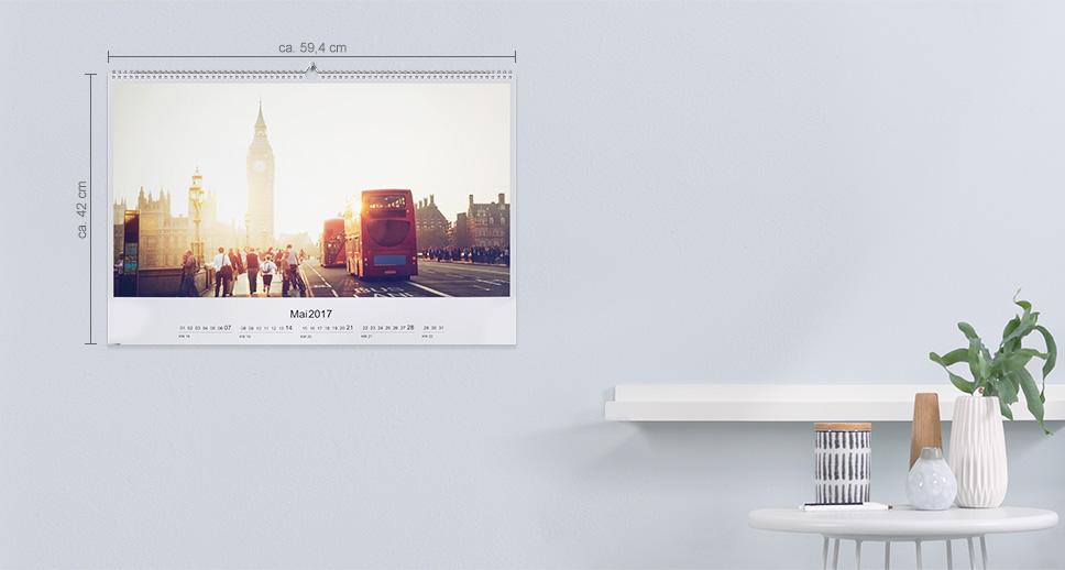 Fotokalendarz ścienny A2 Panorama