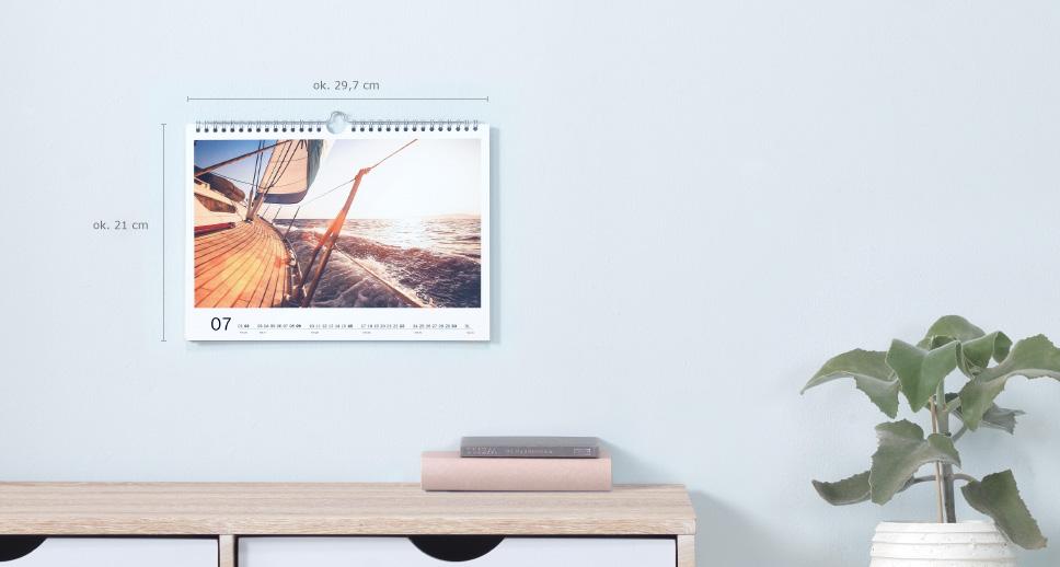 Kalendarz ścienny A4 Panorama