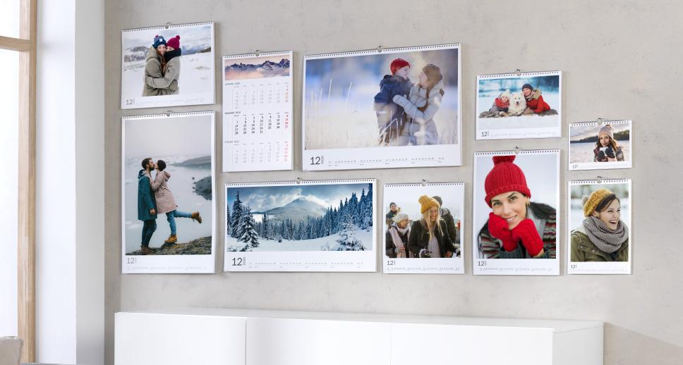 Fotokalendarz CEWE – oferowane formaty kalendarzy ściennych