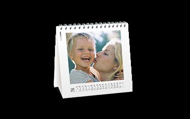 Kalendarz biurkowy kwadratowy