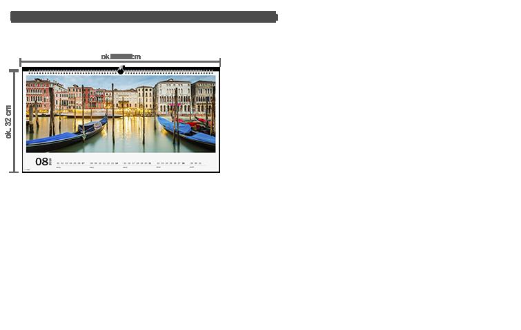 CEWE Fotokalendarz XXL panoramiczny na papierze fotograficznym