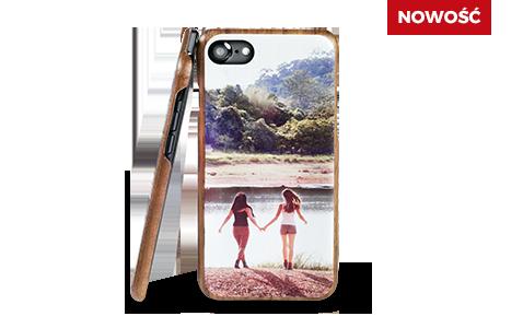 Etui na smartfony (drewniane, wąskie)