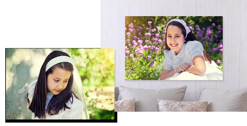 Podaruj fotografie z Pierwszej Komunii Świętej w formie plakatu kolaż
