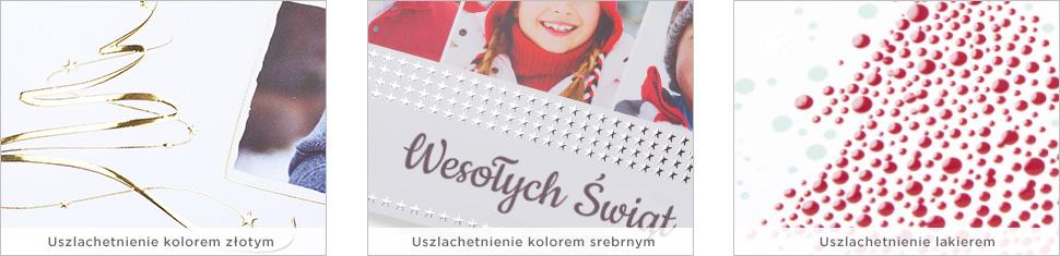 Twórz fotokartki z szablonem bożonarodzeniowym i  uszlachetnieniem