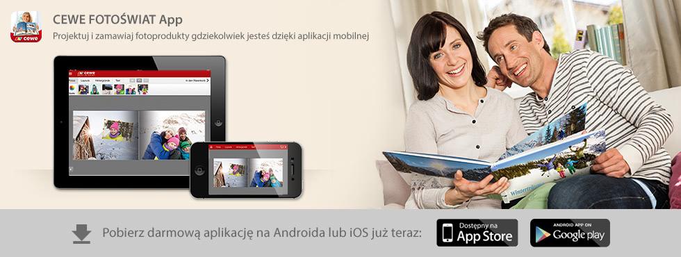 Cewe Fotoświat Apps - zamawianie fotoprezentów
