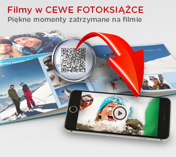 VIDEO w CEWE FOTOKSIĄŻCE