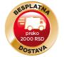 Besplatna dostava na kućnu adresu preko 2000 RSD