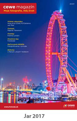 CEWE magazín jar 2017