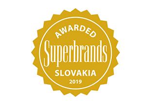 Získané ocenenia Superbrands