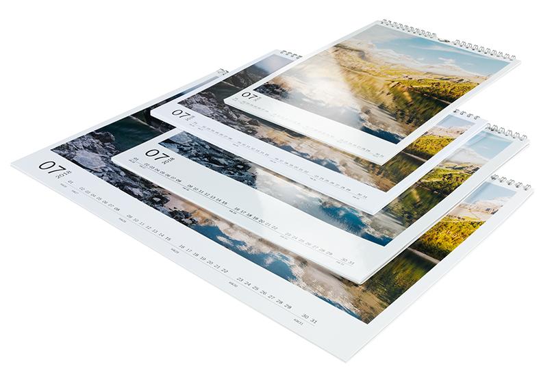Prehľad typov CEWE kalendárov