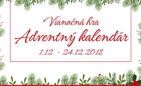 Vianočná hra Adventný kalendár s Fotolabom
