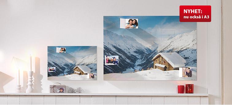 Julkalender med 25 bilder