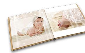Un album photo de baptême pour bébé