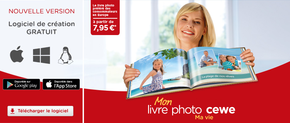 Albums photos et LIVRES PHOTOS CEWE