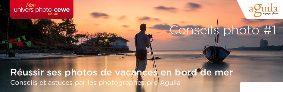 Réussir ses photos de vacances en bord de mer