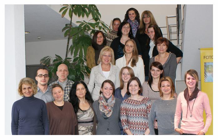 Photo de l'équipe du service client CEWE