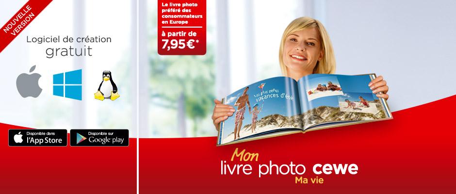 Albums photos et les Livres Photos CEWE
