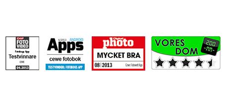 CEWE FOTOBOK-App-recensioner