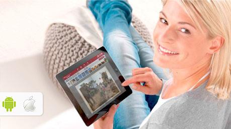 Beställ per mobil eller tablett