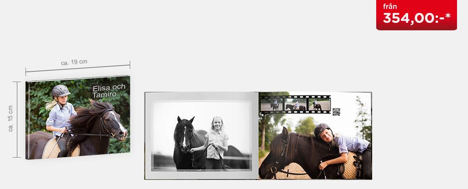 CEWE FOTOBOK Kompact panorama - Matt fotopapper