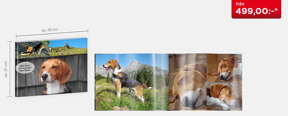 CEWE FOTOBOK Stor panorama - Blankt fotopapper
