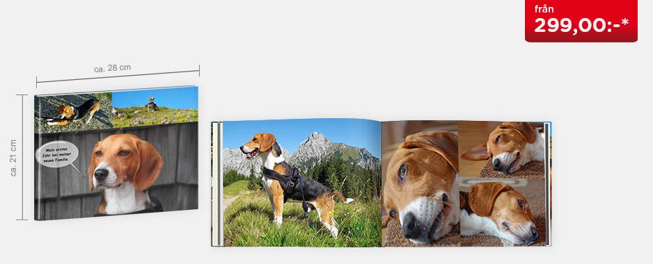 CEWE FOTOBOK Stor panorama - Digitaltryck matt papper