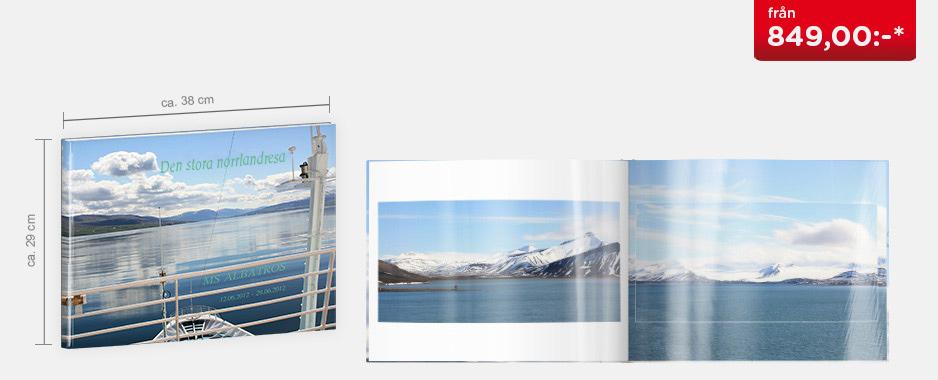 CEWE FOTOBOK XXL panorama - Blankt fotopapper