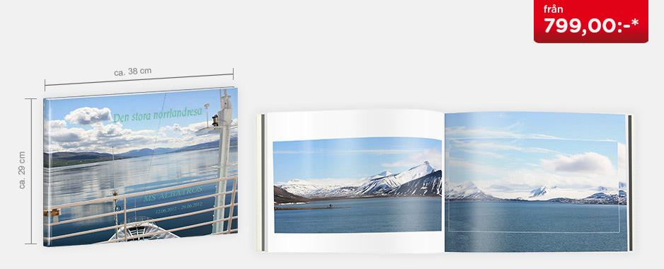CEWE FOTOBOK XXL panorama - Digitaltryck högglans