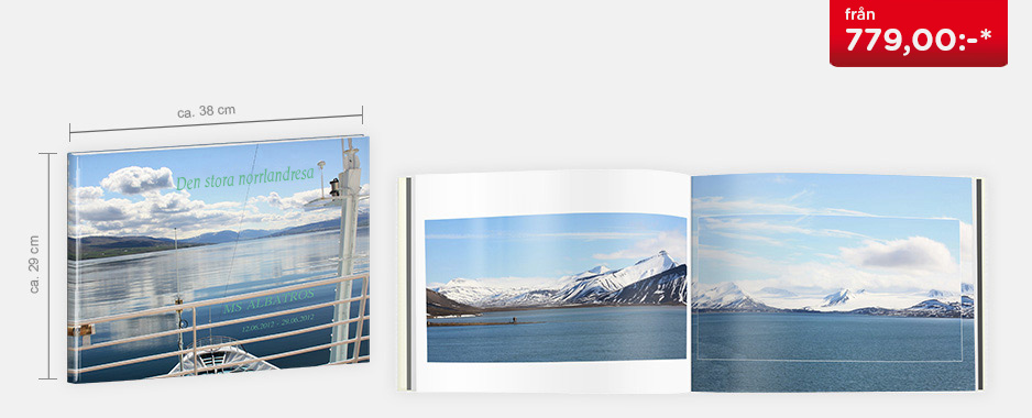 CEWE FOTOBOK XXL panorama - Hårdpärm