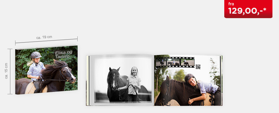 CEWE FOTOBOK Kompakt panorama - Softcover