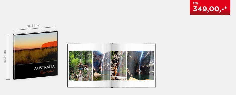 CEWE FOTOBOK Kvadratisk - Blankt fotopapir