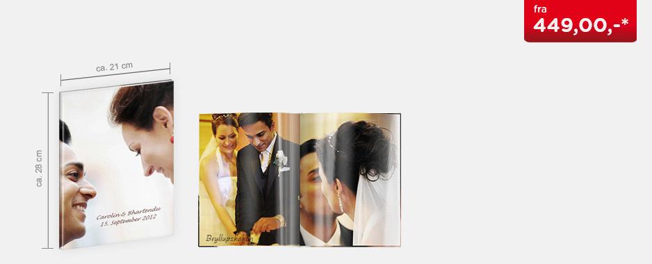 CEWE FOTOBOK Stor - Blankt fotopapir