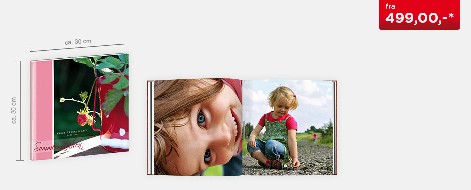 CEWE FOTOBOK XL - Digitaltrykk matt papir