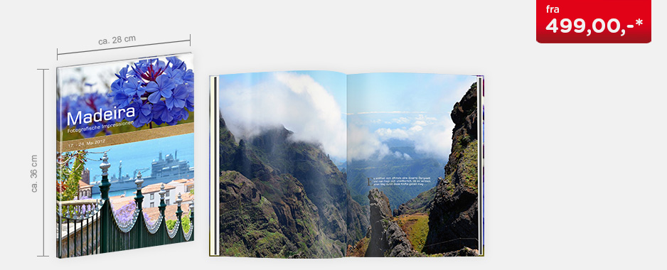 CEWE FOTOBOK XXL Høyformat - Hardcover
