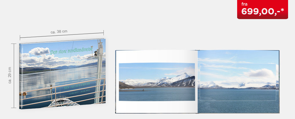 CEWE FOTOBOK XXL panorama - Matt fotopapir