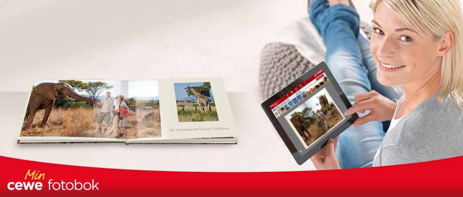 CEWE FOTOBOG App til smarttelefoner og nettbrett