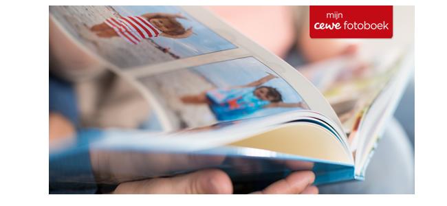 50% korting op alle extra pagina's van je CEWE FOTOBOEK