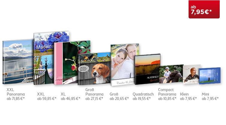 Cewe Fotobuch Uebersicht