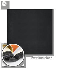Einband: Premiumleinen schwarz