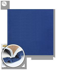 Einband: Premiumleinen blau