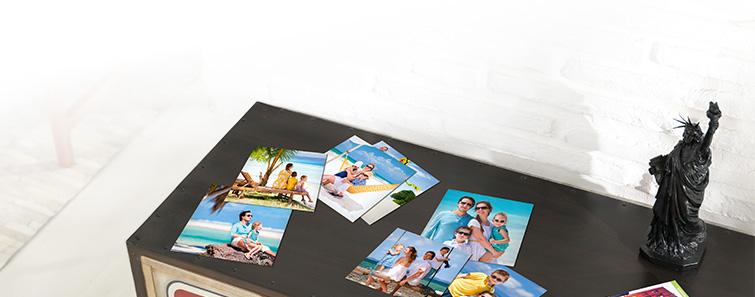 Deine Digitalfotos auf Fotopapier