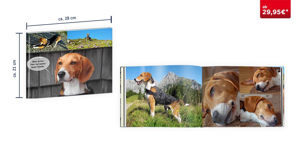 CEWE FOTOBUCH Groß Panorama: Hardcover-Einband