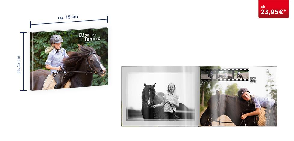 CEWE FOTOBUCH Compact Panorama: auf Fotopapier glänzend