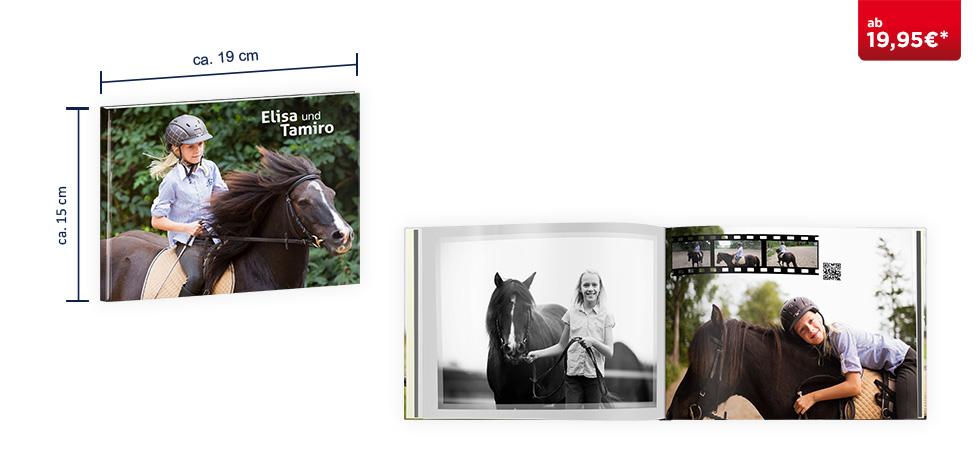 CEWE FOTOBUCH Compact Panorama: Hardcover-Einband