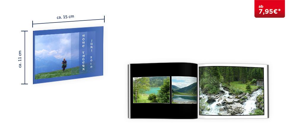 CEWE FOTOBUCH Mini: Softcover-Einband